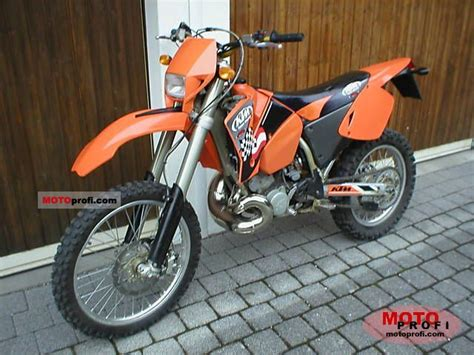 2004 Ktm 250exc Ktm 250 Exc 2004 Specs And Photos