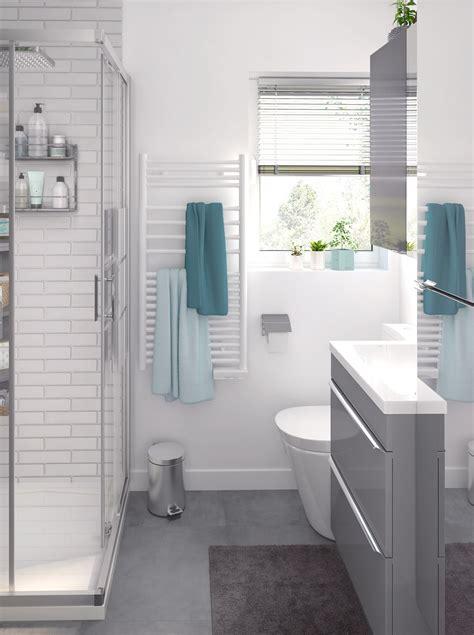 cooke lewis imandra gloss grey vanity basin unit wmm   blissful bathrooms bathroom compact bathroom ensuite bathrooms