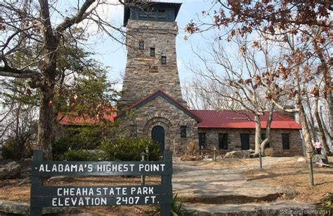 Mt Cheaha State Park Cabins by Cheaha State Park Highest Point In Alabama Southernhiker