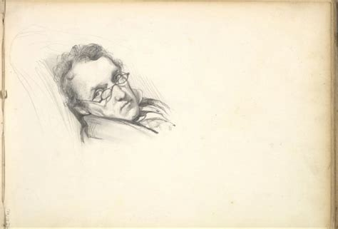 Frederic Leighton Drawings quot william makepeace thackeray quot by frederic leighton