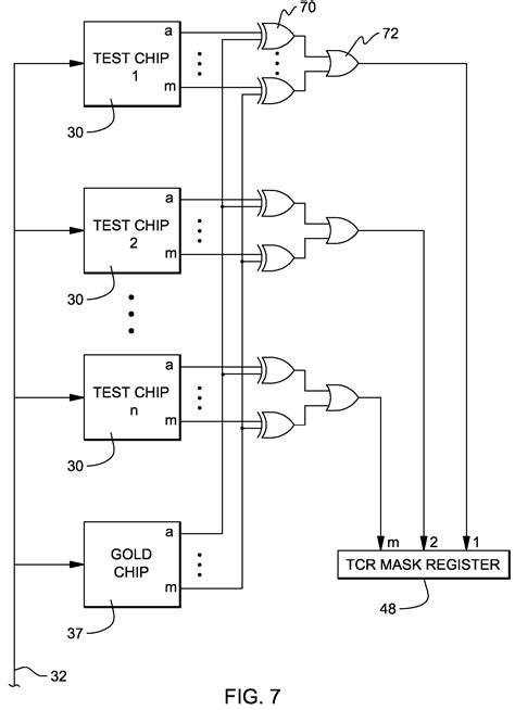 integrated circuit testing process patent us7478280 test system for integrated circuits patents