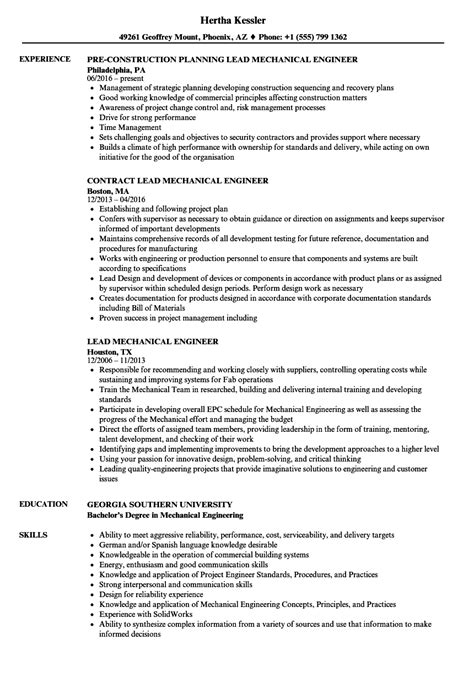 resume format for hoteliers lead electrical engineer lead electrical engineer sle resume sle of construction sle resume templates free