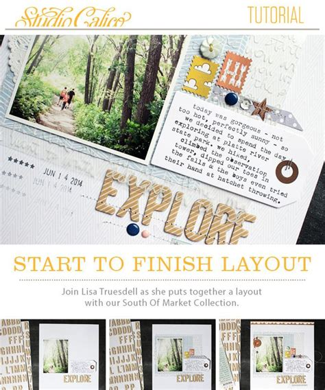 website tutorial from start to finish great layout tutorial from lisa truesdell studio calico