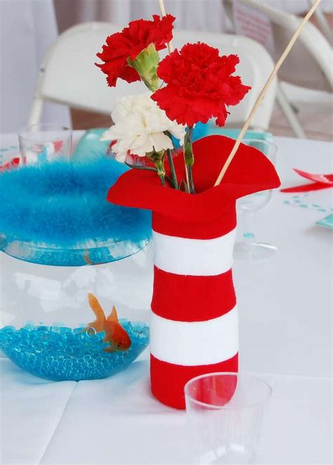 the cat in the hat birthday party ideas photo 6 of 16