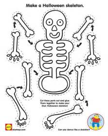 skeleton template to cut out printables alexbrands