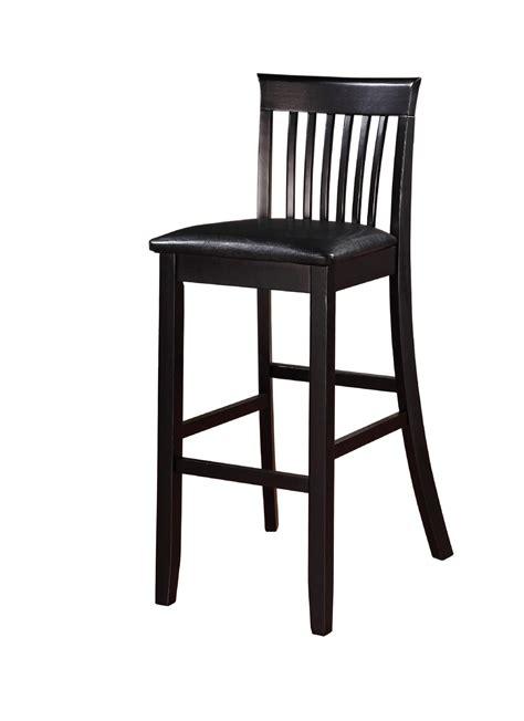 linon torino collection craftsman bar stool