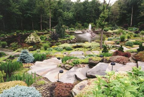 Backyard Rock Garden Water Features Hickory Hollow Landscapers