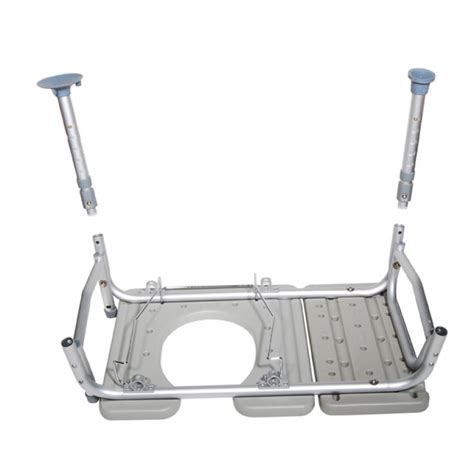 transfer bench with commode opening drive medical combination plastic transfer bench with
