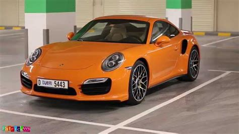 Porsche 911 Turbo S 991 In Amazing Orange