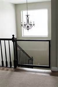 child gate for stairs with banister a diy baby gate chris