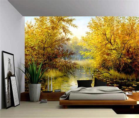 sunset ocean wave coast  adhesive vinyl wallpaper
