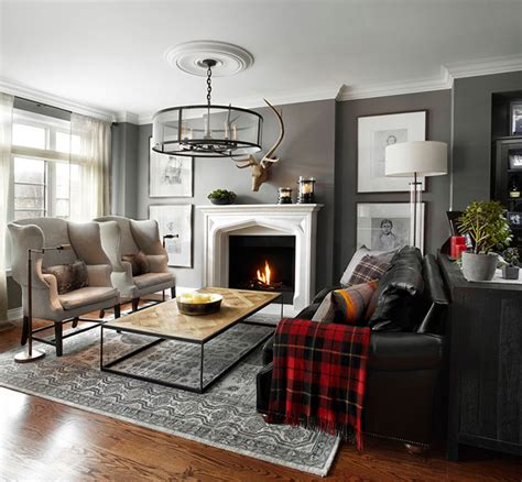 brooke giannetti comfy cozy living space with with modern english townhouse in ontario canada pufik beautiful