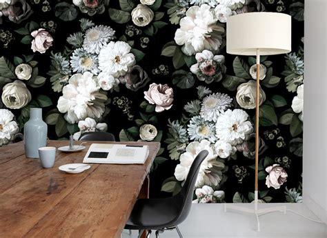 black and white interior wallpaper featured designer ellie cashman pattern observer