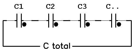 kapasitor seri menghitung kapasitor seri dan paralel nulis ilmu
