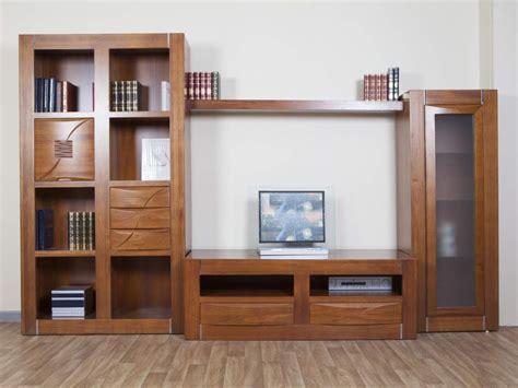 salones bg composicion modular de salon en madera maciza