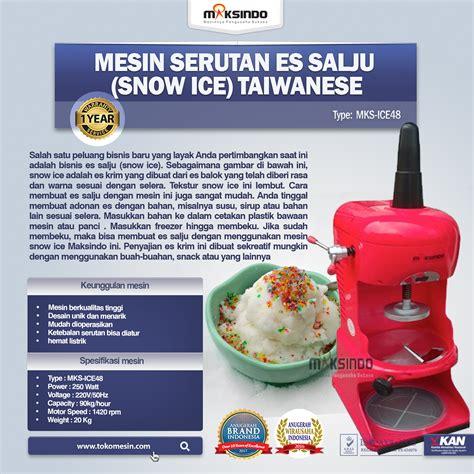 Sale Shaver Serutan Es jual mesin serutan es salju snow taiwanese di