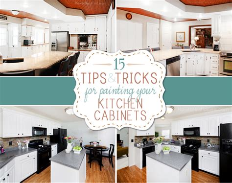 Tips For Painting Kitchen Cabinets | tips and tricks for painting kitchen cabinets how to