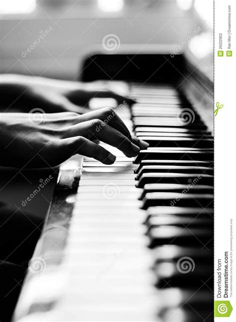 Closeup On Piano Stock Photography Image 26222952
