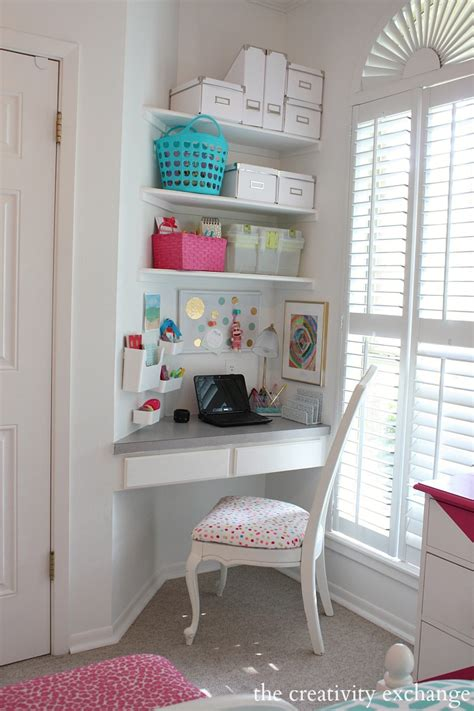 desks for rooms s room reved to bright and bold tween room