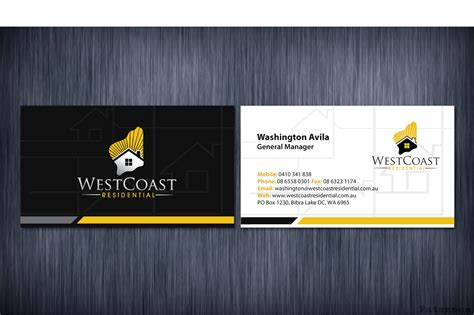 sikawa home business design 206 professional home builder business card designs for a