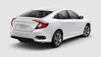 White Honda Civic What Are The 2017 Honda Civic Sedan Color Options