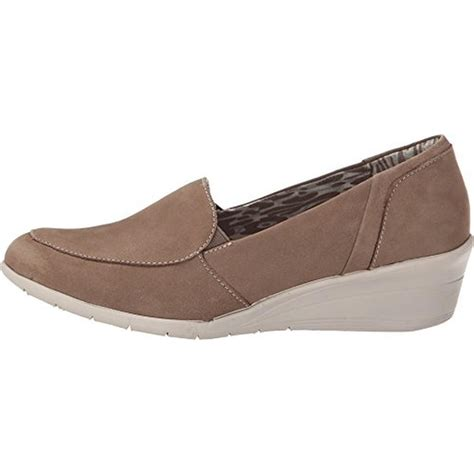 wide womens shoes hush puppies hush puppies 4505 womens lulu ware taupe wedge heels shoes 6 wide c d w bhfo ebay