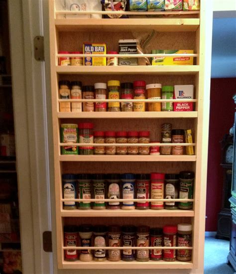 Pantry Door Hanging Spice Rack by Pantry Door Spice Rack Door Spice Rack Door Mounted Spice