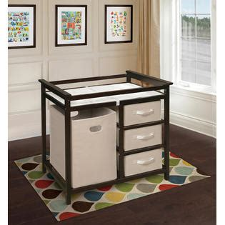 Badger Basket Corner Changing Table Espresso Badger Basket Espresso Modern Changing Table With 3 Baskets And Her