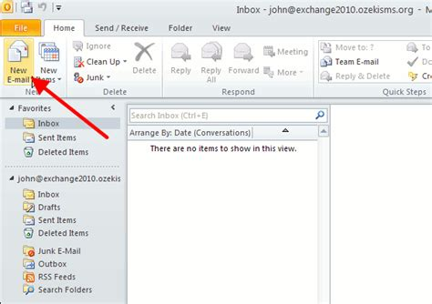 email new configure notification sms in ms exchange 2010