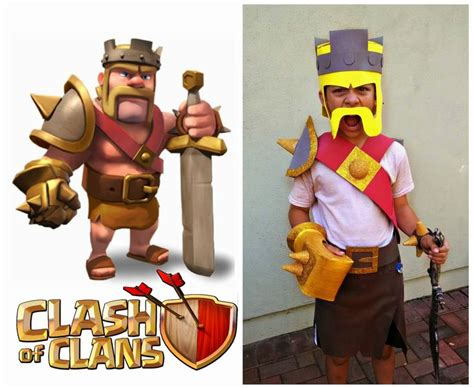 Coc Barbarian Lev 7 8 best costumes clash of clans images on