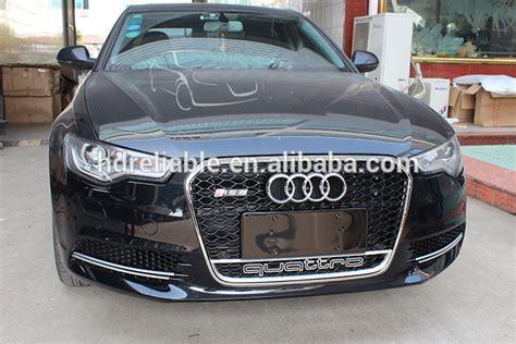 Audi A6 C6 Front Grill by Car Grills For Audi A6 Rs6 A6 Chrome Front Grill For Audi