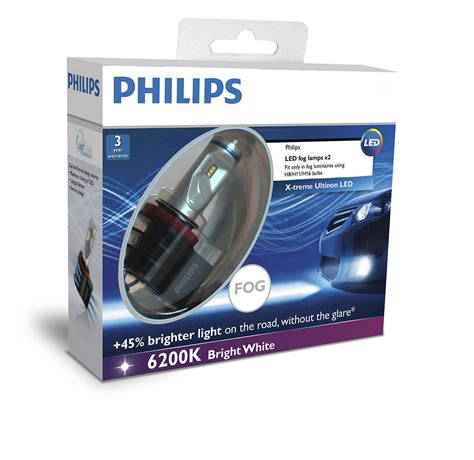 Lu Led Philips Paling Terang x treme ultinon led lu kabut mobil 12834unix2 philips