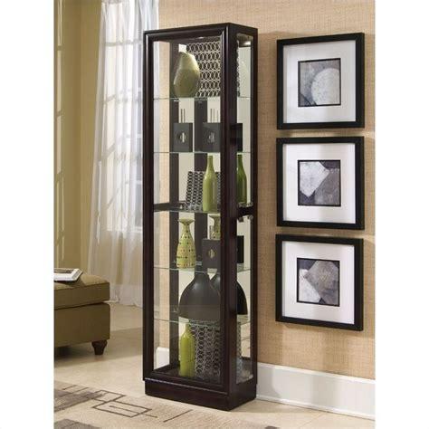 esszimmer corner cabinet chocolate cherry ii 21 inch wide curio cabinet 21000