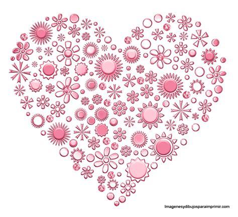 imagenes de flores y corazones infantiles corazones y plumas rosas para imprimir