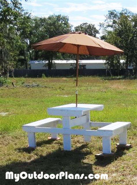 diy small picnic table plans myoutdoorplans
