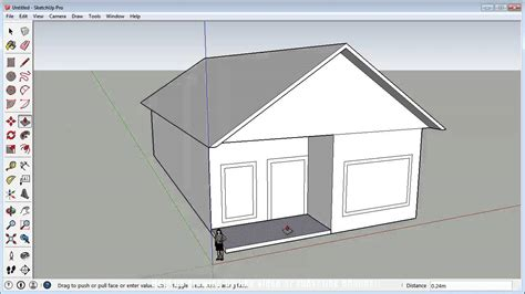sketchup fast 3d house tutorial basic