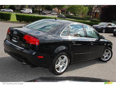 black audi audi a4 sedan black