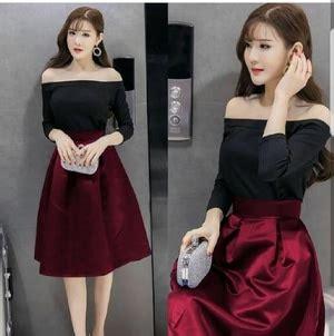 Fashion Wanita Mini Dress baju mini dress pendek fashion wanita desain sabrina model