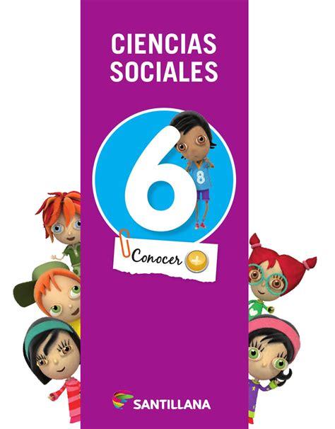 libro ciencias sociales mec 6 recorridos santillana ciencias sociales y naturales 4 naci 243 n by mar 237 a candelaria pagella issuu