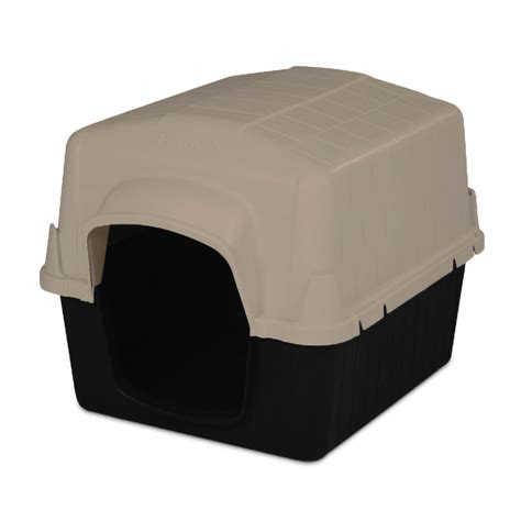 top dog houses top paw dog house size 29 quot l x 22 quot w x 21 quot h black tan dog houses vanilla dog