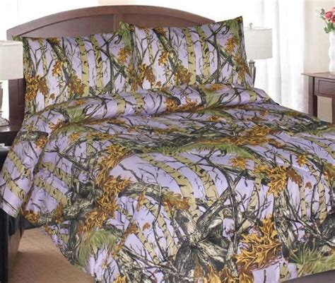 purple camo bed set children s camo bedding for boys and girls