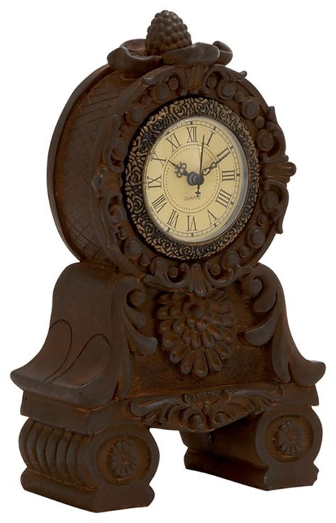 unique desk clocks unique styled superb ceramic table clock traditional