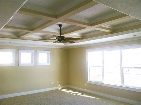 Coffered Ceiling Vs Tray Coffered Ceiling Gharexpert