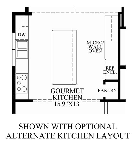 kitchen design layout sles the summit at bethel the bransford home design
