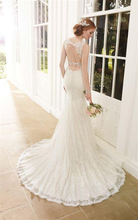 sparkly fit  flare wedding dress martina liana