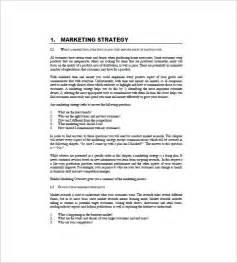 business and marketing plan template international marketing plan template 8 free word