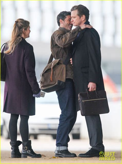 Dempsey And Welcomes Boys by Renee Zellweger Dempsey Colin Firth Filming