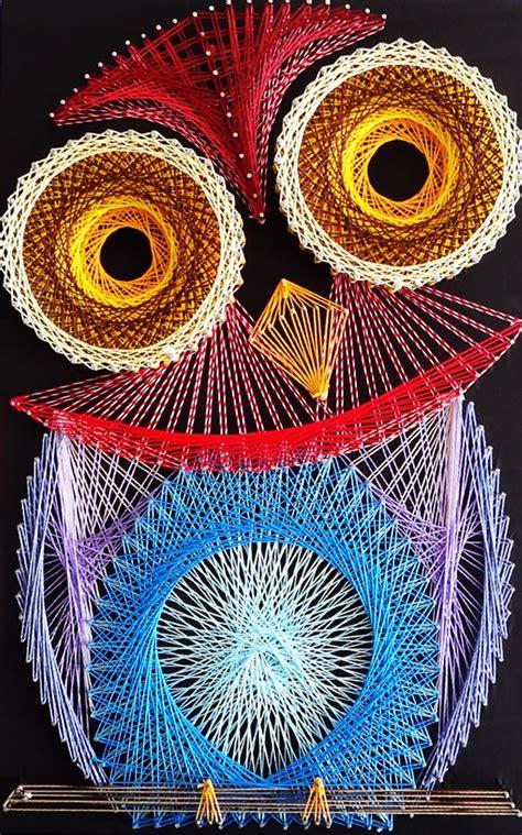 String Owl - aline cbell string string ps