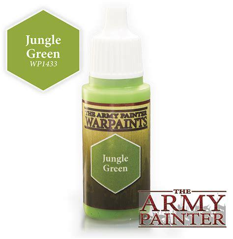 jungle green warlord us