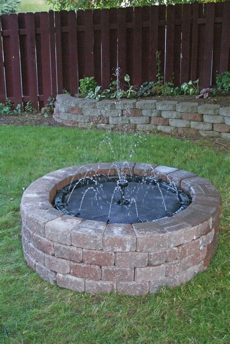 do it yourself backyard outdoor water features do it yourself image mag